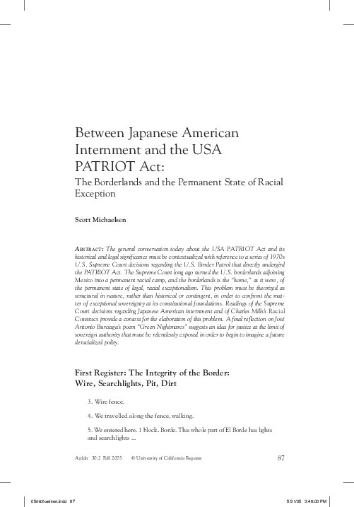 Patriot act research paper how to write an effective letter to a judge