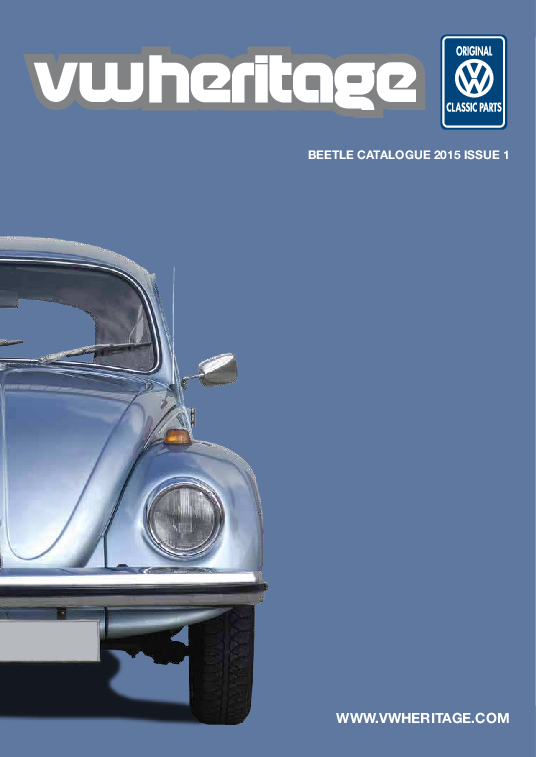 VW Bug Owner/'s Manual Beetle Parts Catalog Download Link q 1965 August 1964