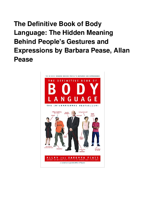 body of definitive the language pdf book