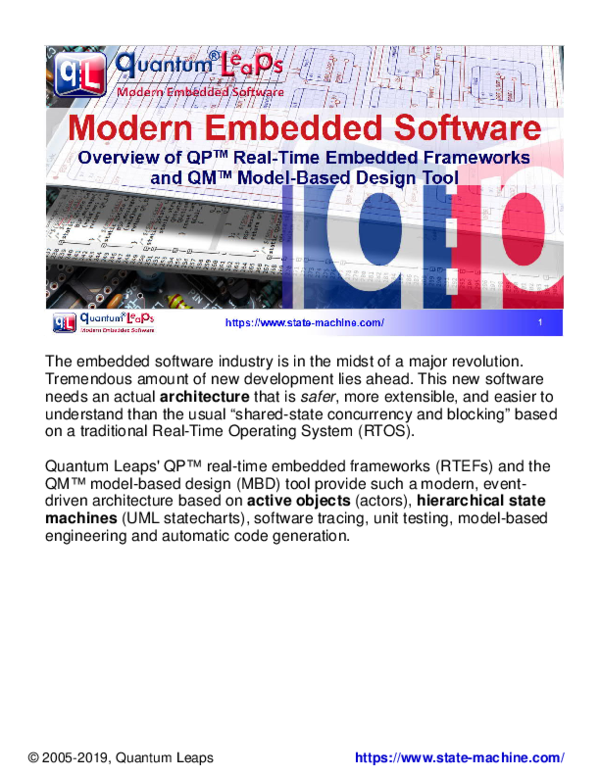 Pdf Modern Embedded Systems Programming Beyond The Rtos Miro Samek Academia Edu
