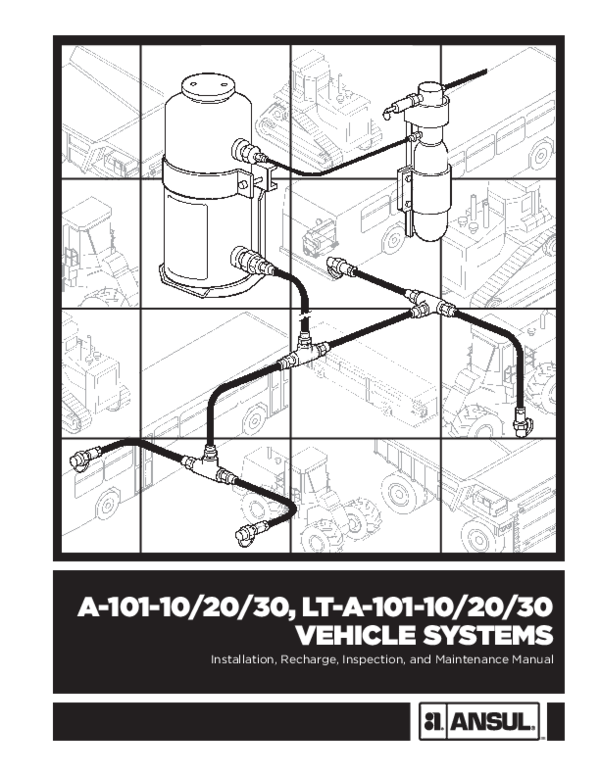 ansul shut down wiring diagram pdf  vehicle systems installation  recharge  inspection  and  pdf  vehicle systems installation