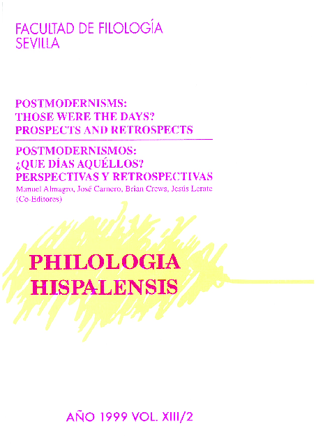 Pdf Philologia Hispalensis Vol 13 Nº2 1999 Philologia