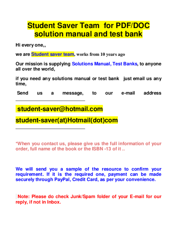 Pdf If You Need Anything Contact Us Student Saver Hotmail Com Jone Madsson Academia Edu