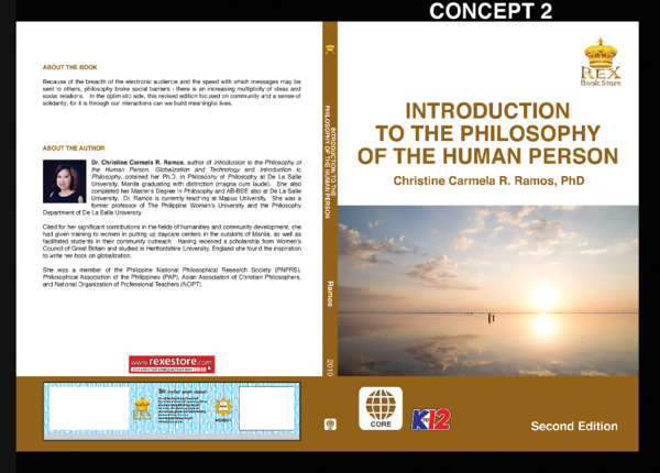 Introduction to the Philosophy of the Human Person 2019 concept2e