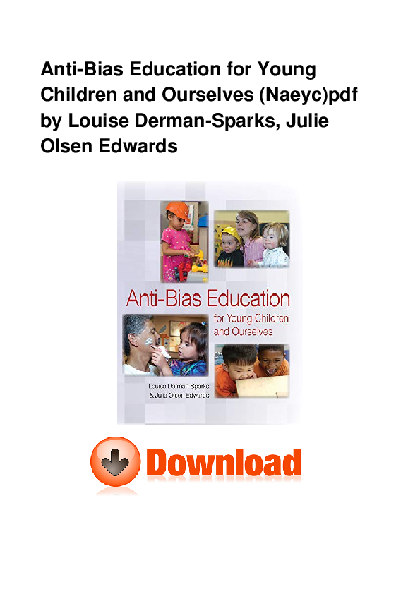 anti bias education for young children and ourselves free download