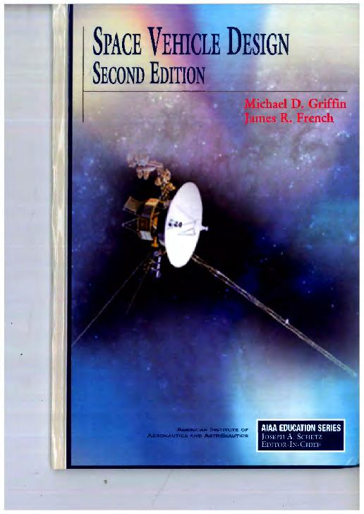 PDF) SPACE VEHICLE DESING.pdf | un estudiante mas - Academia.edu