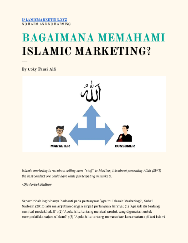 islamic marketing research papers academia edu islamic marketing research papers