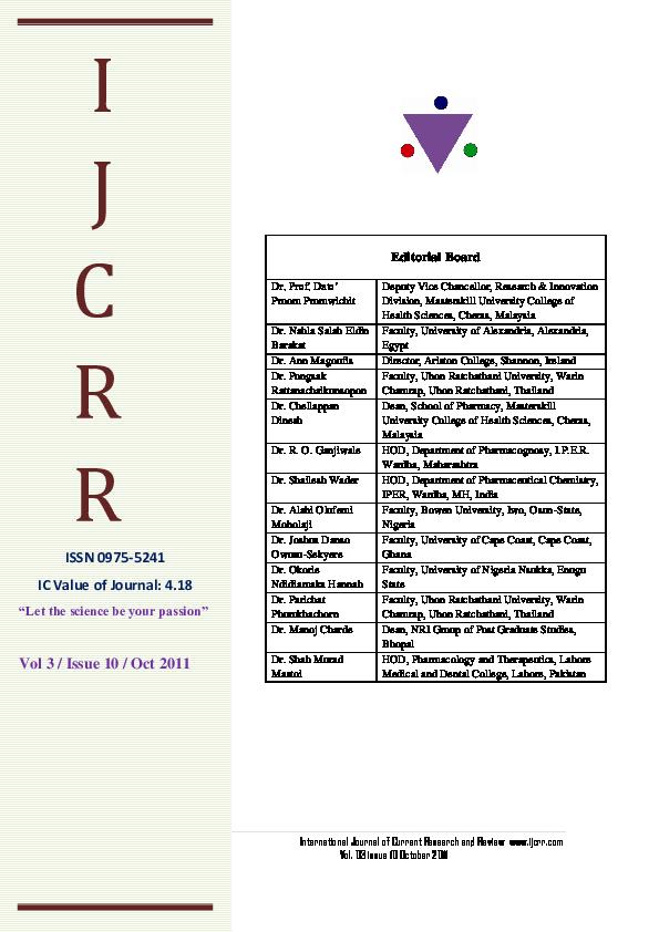 PDF) Toll like Receptors: the immunomodulatory agents and
