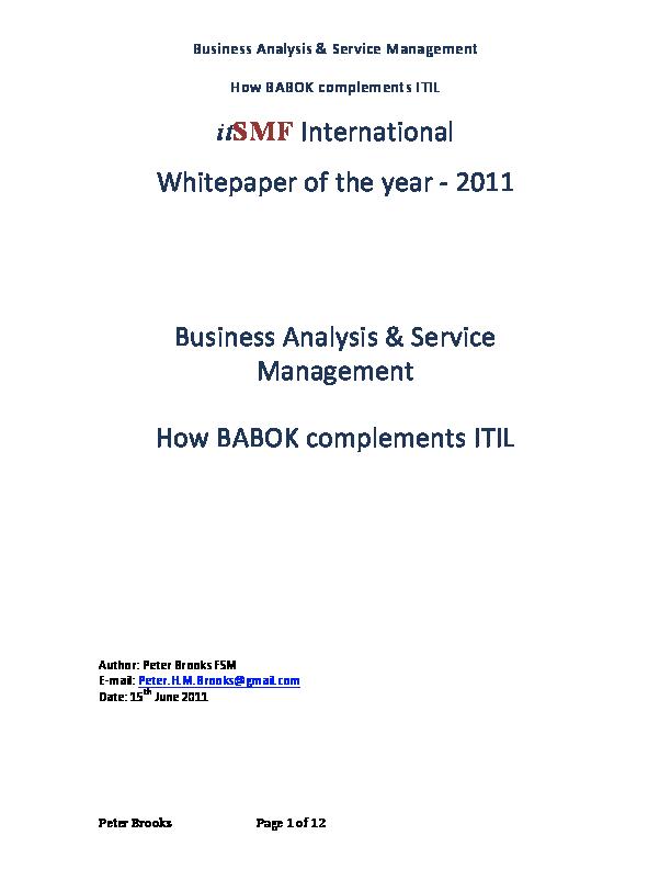 Babok Book Pdf