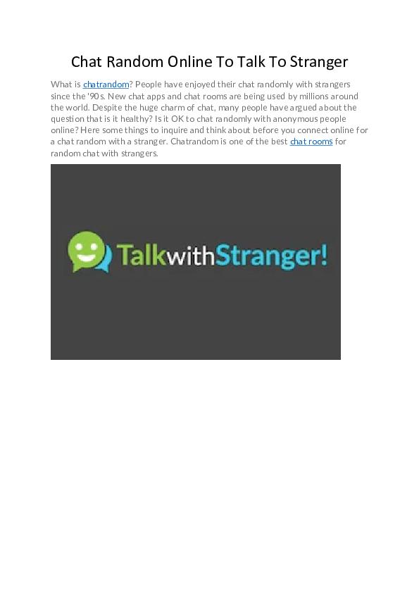 Chat random mini Omegle chat