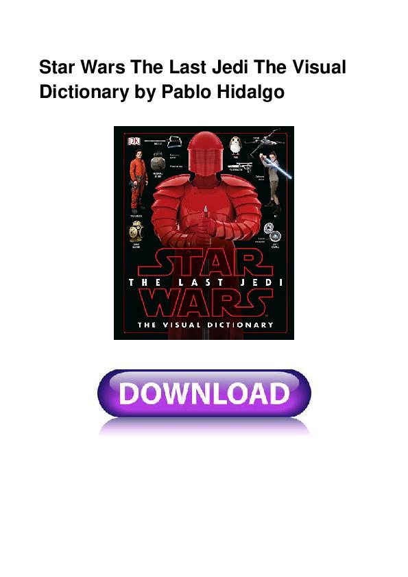Journey to star wars: the last jedi pdf free download