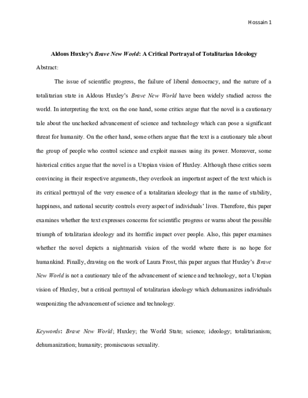 Brave new world research paper ideas new essays on the red badge of courage