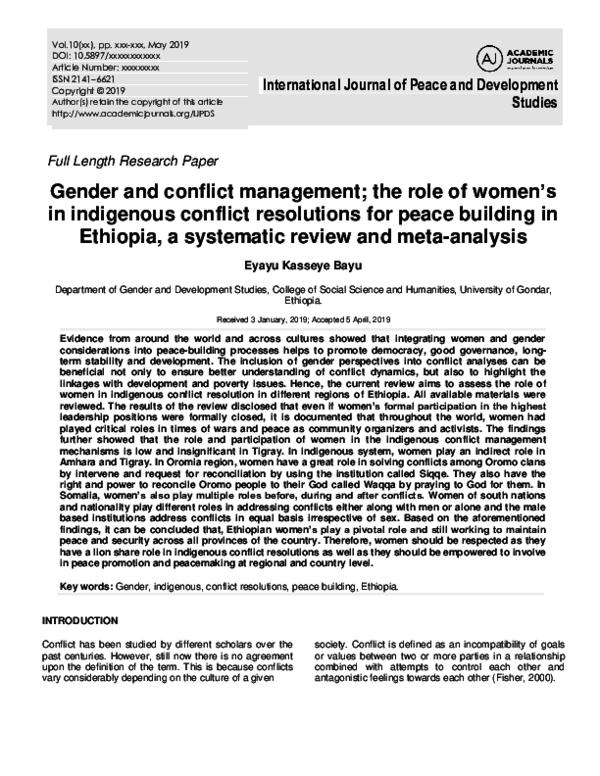 Women in development an interpretive essay conflict management studies in contemporary international essay for gmat score