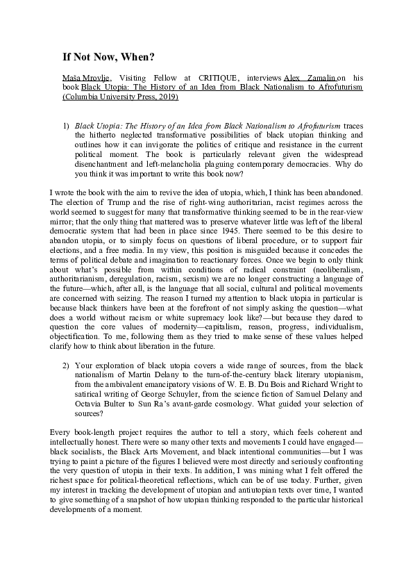 richard wright research paper