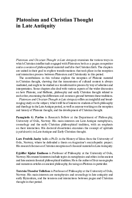 PDF) The Doctrine of Immanent Realism in Maximus the Confessor   Sebastian  Mateiescu - Academia.edu