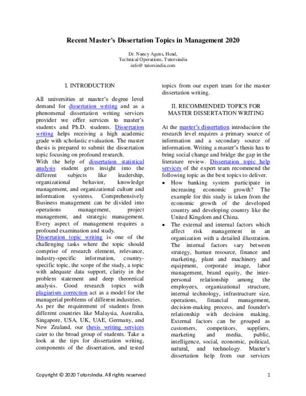Dissertations database