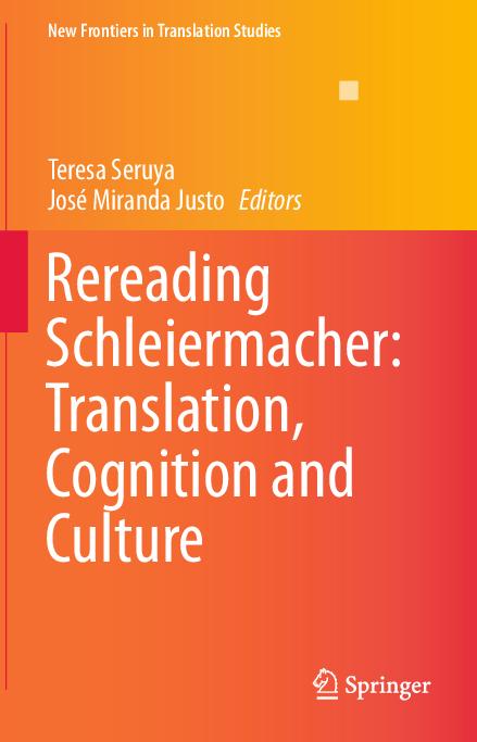 Pdf Rereading Schleiermacher Translation Cognition And Culture Ernst Wendland Academia Edu