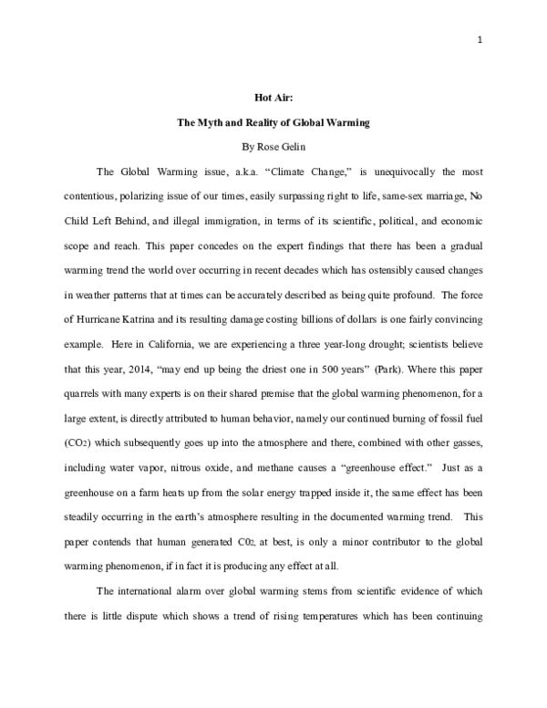 Global warming topics for research paper college essay introduce yourself
