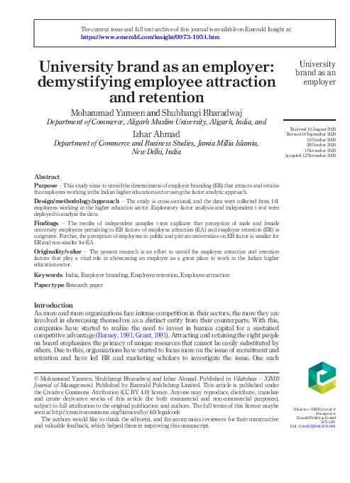 employer branding research paper