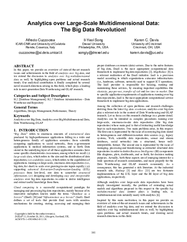 Olap and dataware research papers essay jet