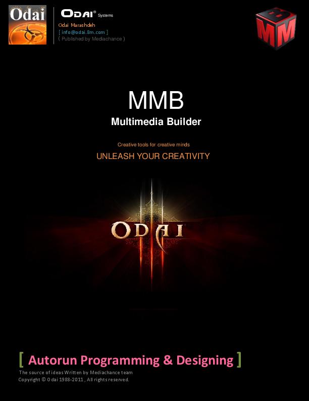 PDF) Multimedia Builder | Odai Marashdeh - Academia edu