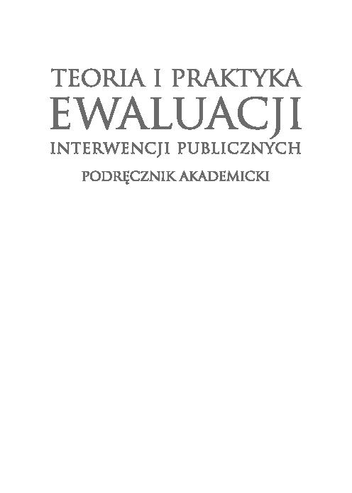 Pdf Rola Systemów Wskaźników W Ewaluacji Jaroslaw Gorniak