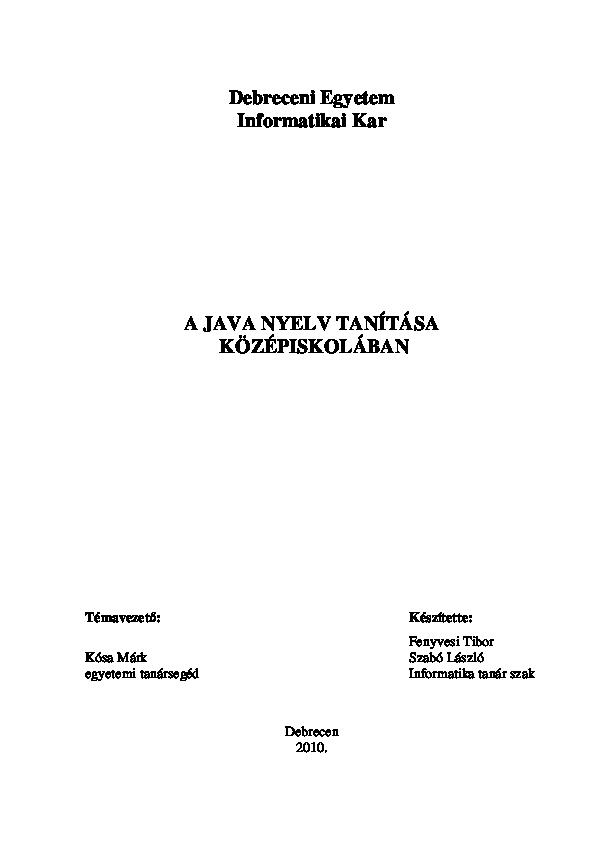 konstruktor bináris opciók)