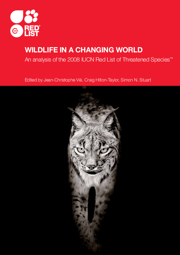 a0c834625d2c Wildlife in a changing world  an analysis of the 2008 IUCN Red List ...