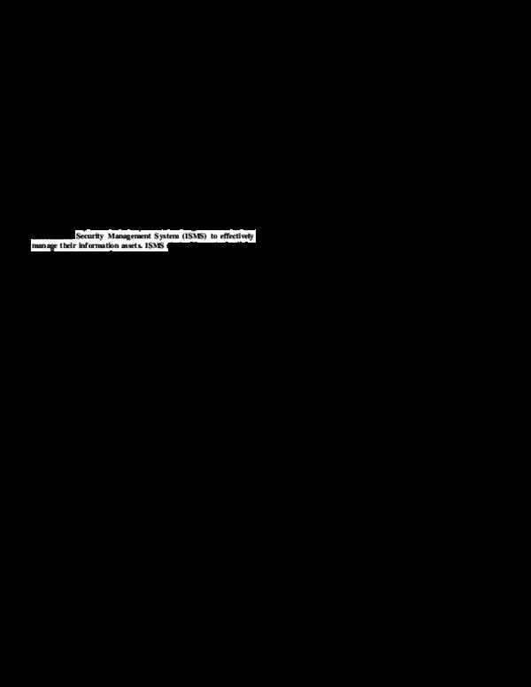 PDF) I-SolFramework Views on ISO 27001 | HERU SUSANTO