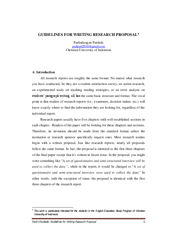 example of a research proposal paper
