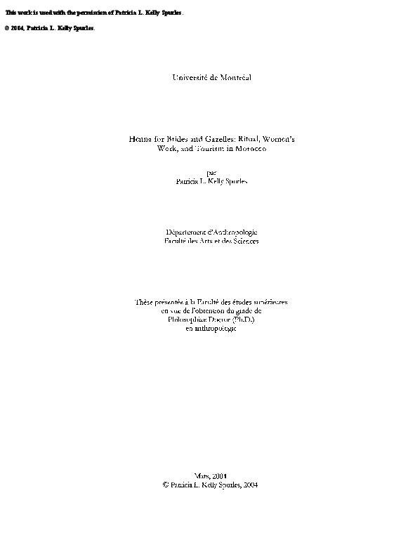 6e4118e43de PDF) Henna for Brides and Gazelles: Ritual, Women's Work and Tourism ...
